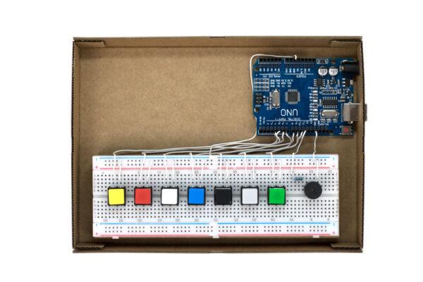 little piano Arduino montaje robótica