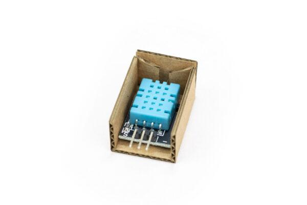 dht11 sensor temperatura humedad montaje