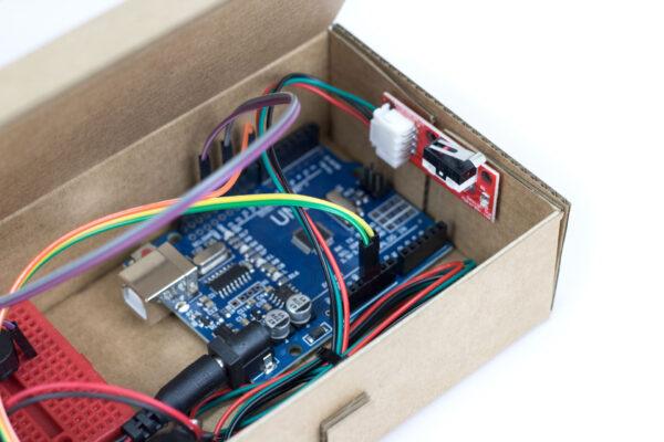 caja de música robótica