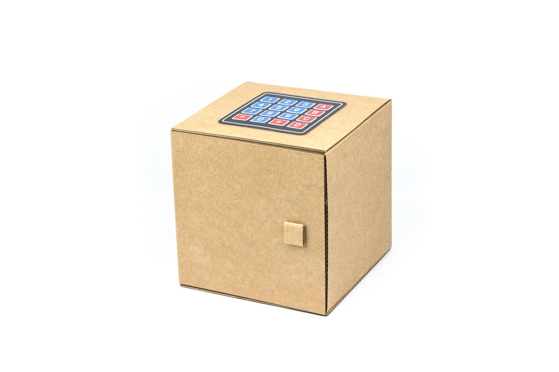 caja fuerte robótica