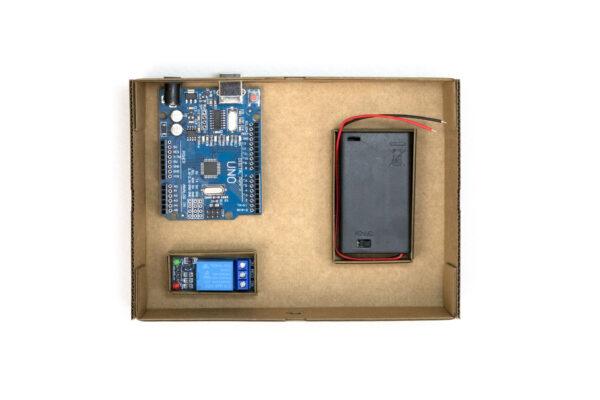 lámpara sensor de sonido robótica