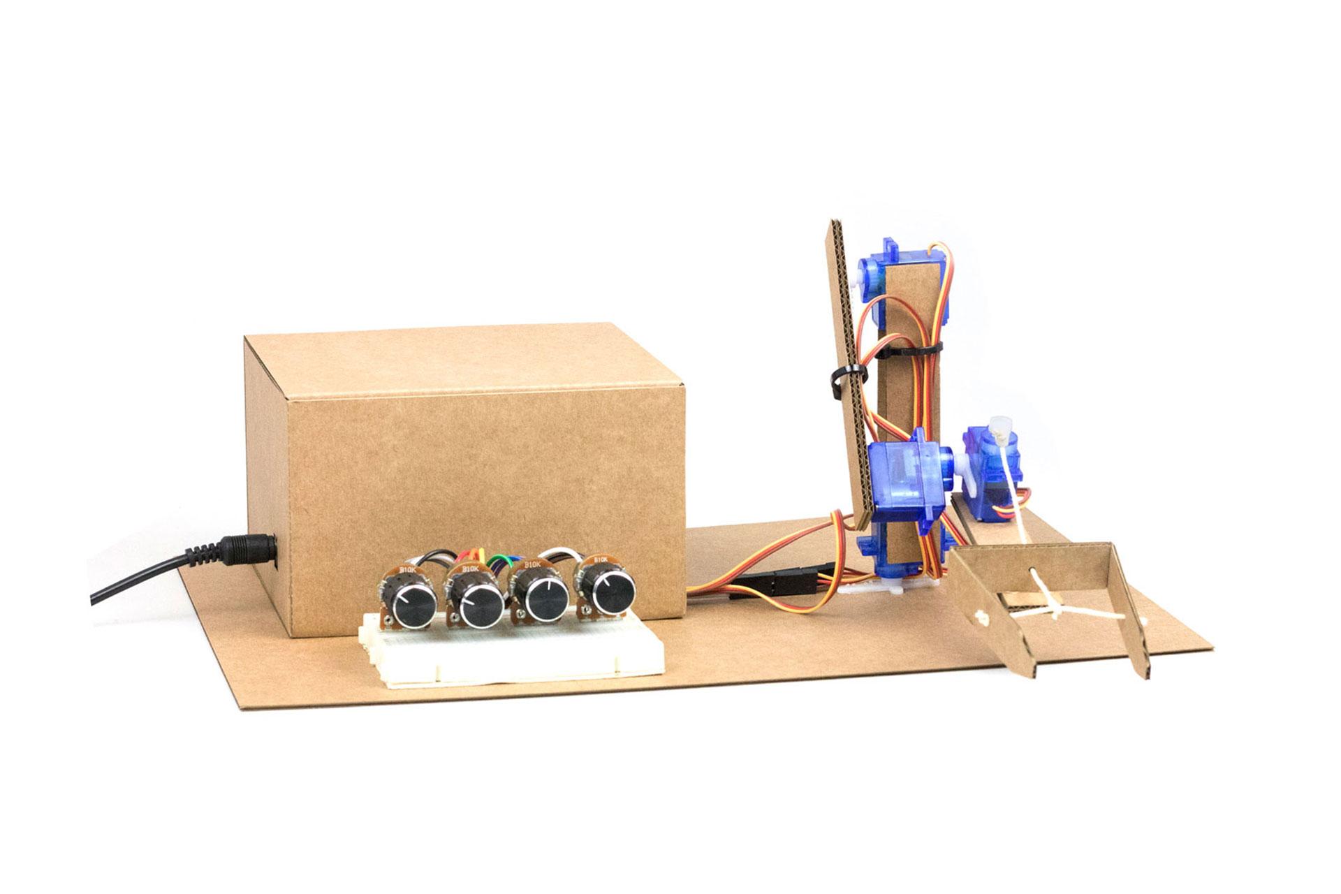 brazo robótico arduino