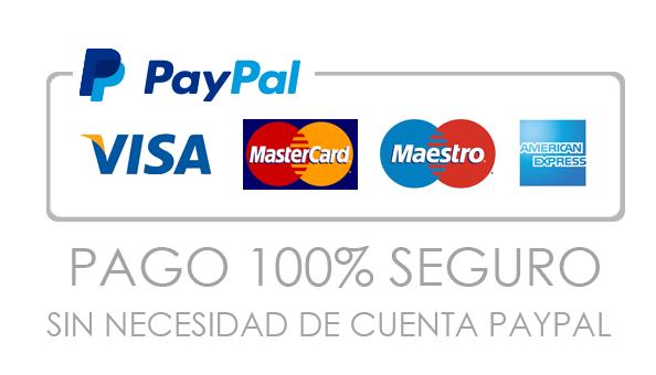 pago paypal fondo blanco