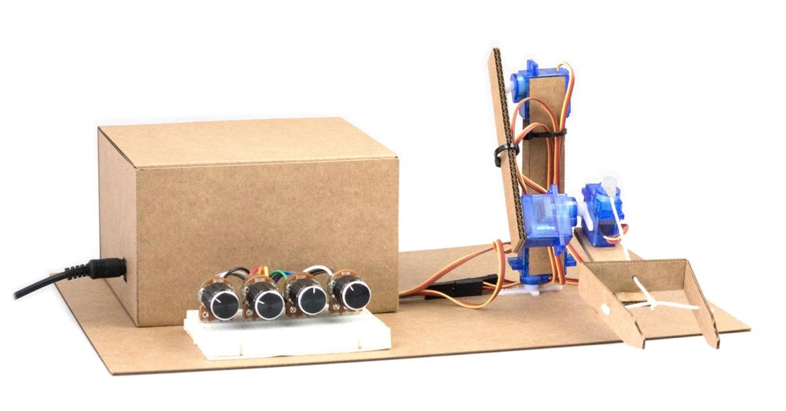 brazo robotico arduino